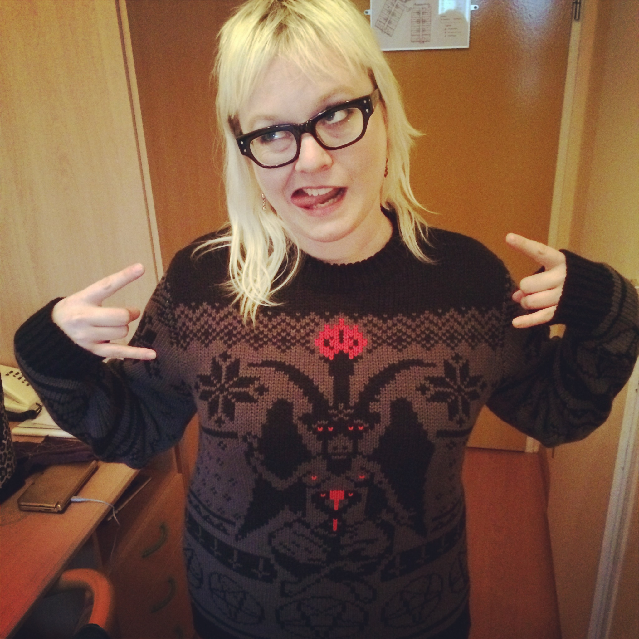 My Christmas sweater is the best Christmas sweater. I got it from Shredders Sweaters!