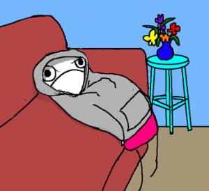Accurate representation of how I feel. Image by the incomparable Allie Brosh.