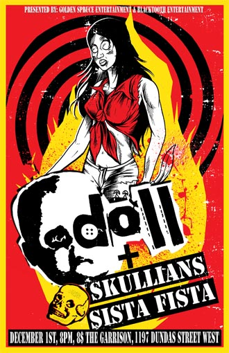 Doll/ Skullians/ Sista Fista