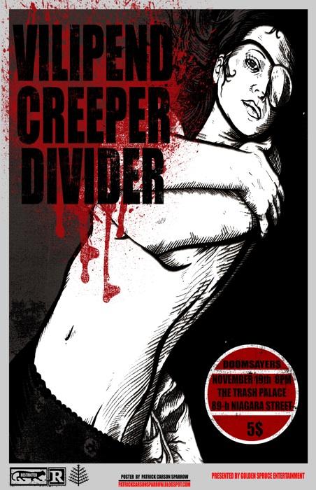 Doomsayers 3: Vilipend/ Creeper/ Divider