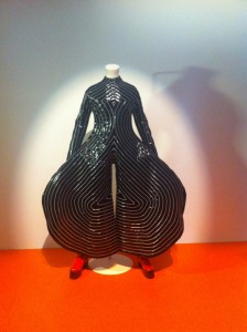 I like to think of this as David Bowie's cenobite costume.