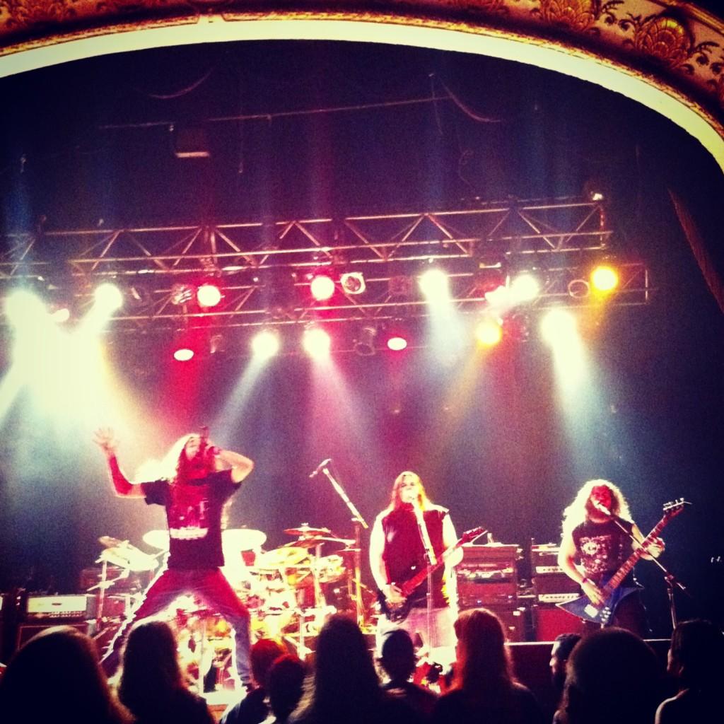 Crimson Shadows, winners of the 2013 Wacken Metal Battle, being awesome.